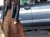 Street Style: Leather Leopard