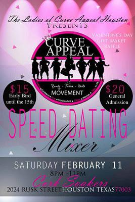 Curve Appeal Houston's Speed Dating Mixer