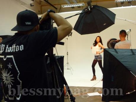 Supermodel Danica Magpantay for Tattoo Home – Behind the Scenes for Print and TVC