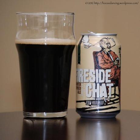 Beer Review – 21st Amendment Fireside Chat Winter Spiced Ale