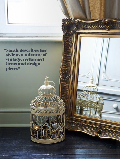 House tour: A vintage, reclaimed, and chic beauty