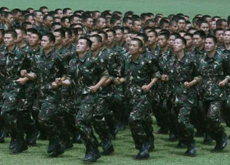 Viral video: Daredevil Chinese soldiers play hot potato with a live grenade