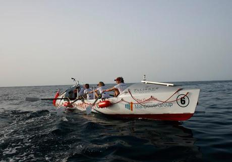 All-Woman Rowing Team Finishing Atlantic Crossing