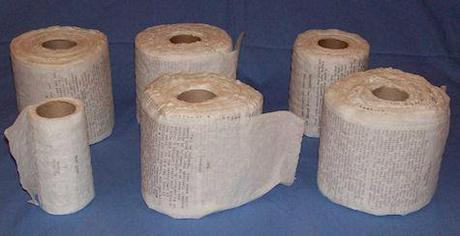 Moby Dick Typed On Toilet Paper