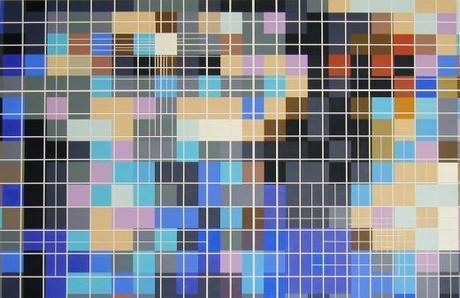 Artist spotlight: Michael Begenyi's color rich, geometric paintings