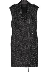 Karl Ordina sequined biker dress