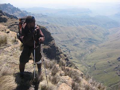An Afro-Italian hike to Mafadi - November 2011