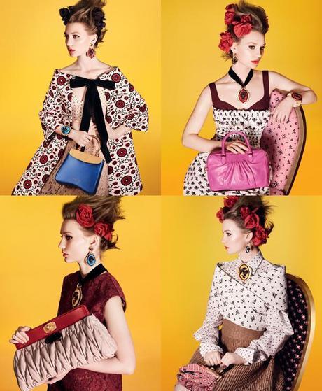 Miu Miu ALLFashions Nod to the Past: Retro Glamour