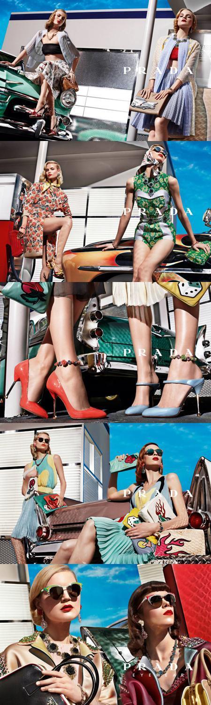 Prada ALLFashions Nod to the Past: Retro Glamour