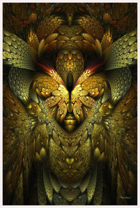 Fractal art - The Icon of Hecate - ~silverb