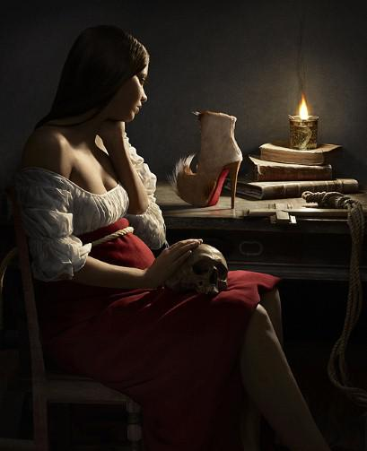 Georges de la Tour's Magdalene and the Flame sees the subject staring longingly at the 'Puck' boot
