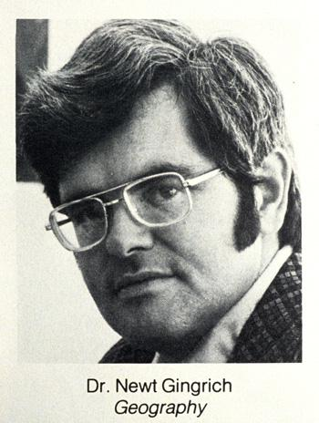 Newt 1968: Gingrich led protests against nude censorship