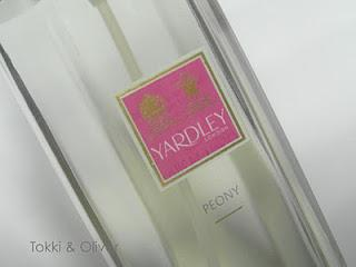 Yardley London's Perfume Review: Peony, Iris and Lily of the Valley