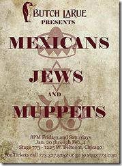 Butch LaRue - Mexicans, Jews and Muppets poster
