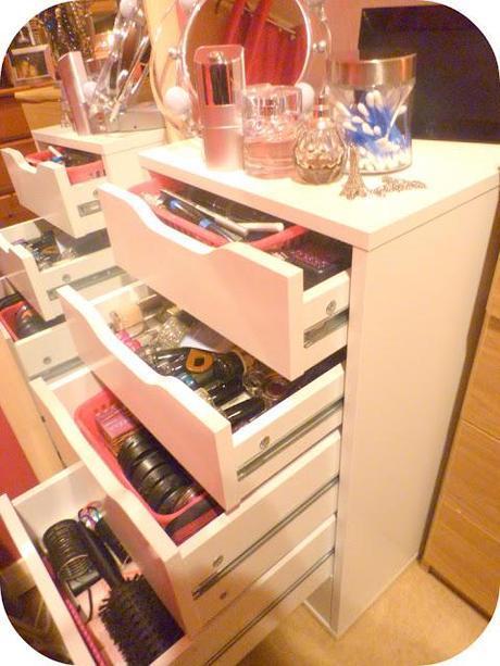 New Make Up Storage and Organisation