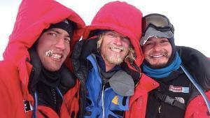 Antarctica 2011: Cas, Jonesy, and Aleks Are Done!