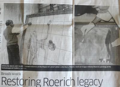 Restoring Roerich Legacy