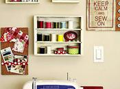 Sewing Rooms from Pinterest