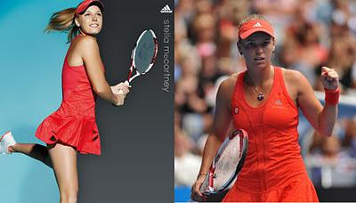 Tennis Fashion Fix: 2012 Australian Open - Fashionable Losers
