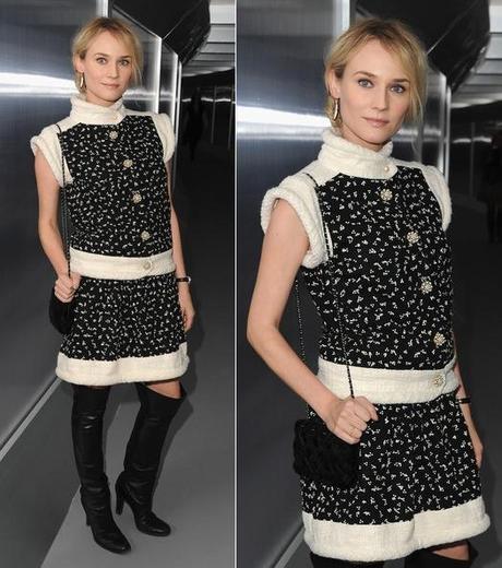 Diane Kruger ChanelFab Find Friday: Kruger Visits Chanel Couture