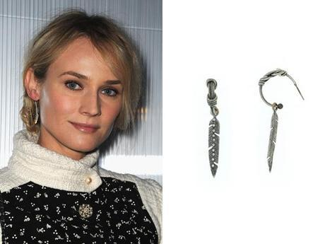 Feather EarringsFab Find Friday: Kruger Visits Chanel Couture