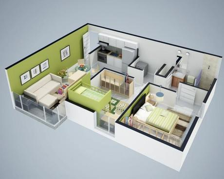 Floorplan 3D View