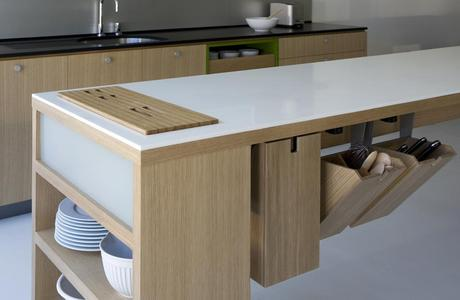 Practical Kitchen Designs kitchen design - practical and modern - paperblog