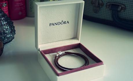 My Favourite Accessory At The Moment- Pandora Double Waved Leather Bracelet