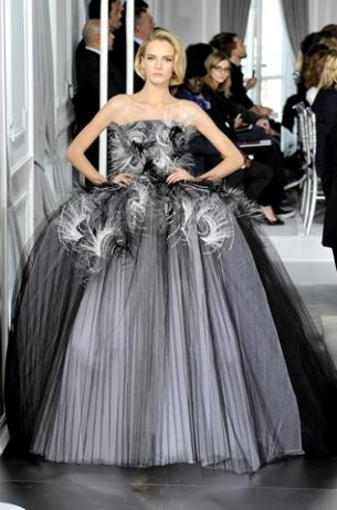 Dior Haute couture Fashion Week 2012