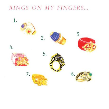 An, insanely, good mix of vintage finger-blingers.       ...