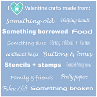 I Love Valentines Craft