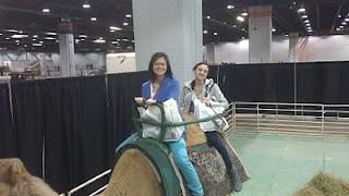 Riding a Camel in a Convention Center