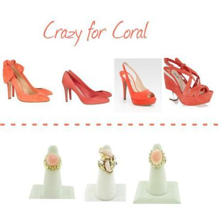 Tuesday Shoesday: Crazy for Coral