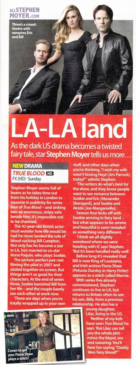 "Stephen Moyer Interviewed for TV Guide – ""La La Land'"