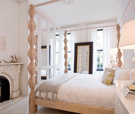 Tired mind?  Keep your bedroom light and airy...