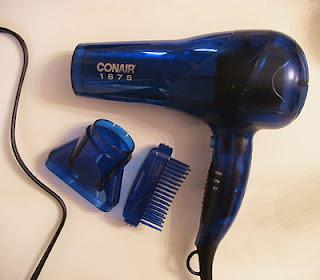 Collective Hair Product Review - Clarifying Shampoo, Rusk Deepshine Oil Treatment, Conair Hairdryer