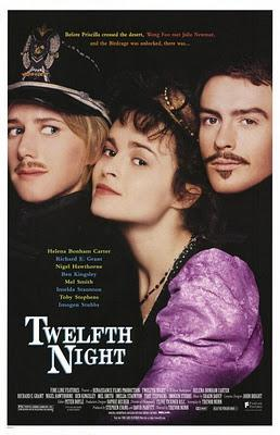 SHAKESPEARE  & LOVE:  TWELFTH NIGHT(1996) AND MUCH ADO ABOUT NOTHING (2011)
