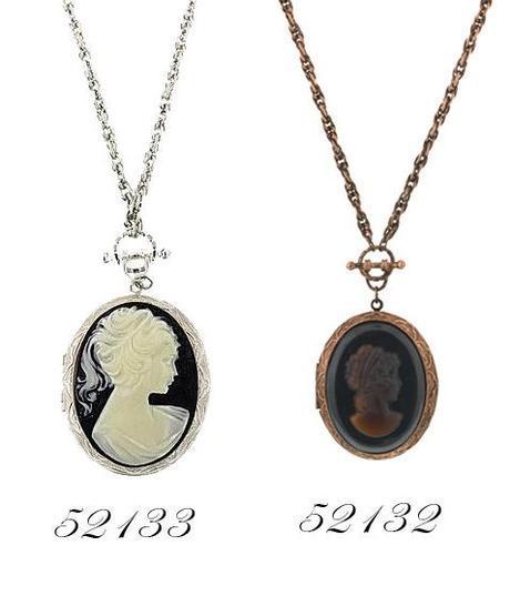 vintage cameo necklaces
