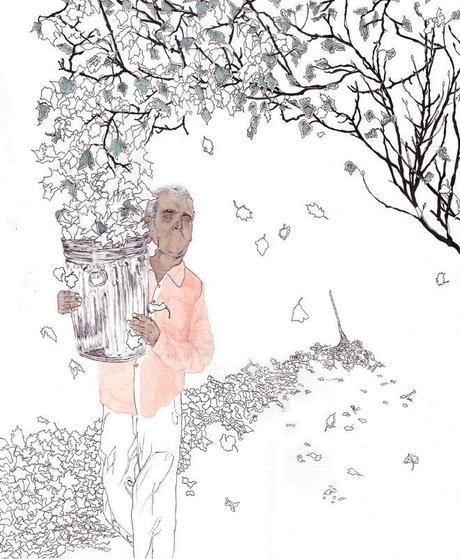 Illustration Friday #5: Silent