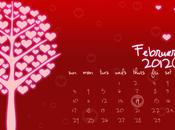 Freebie! February 2012 Desktop Calendar