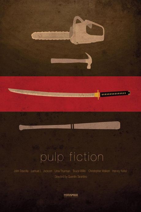 Pulp Fiction Tribute Print