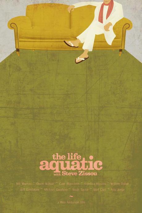 Life Aquatic (Hennesy) Tribute Print