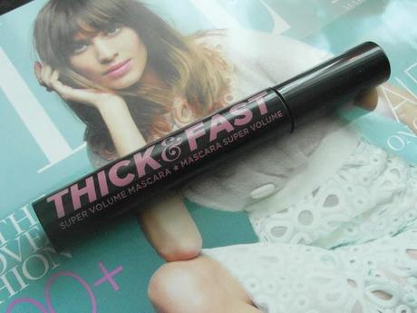 Free Soap & Glory Thick and Fast Mascara - Elle Magazine March Freebie