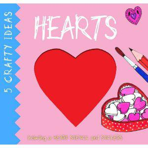 Valentine's Cards and 5 Crafty Ideas Books