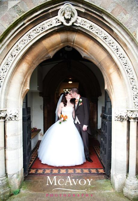 A Quorn Hotel wedding-Leanne and Richard share their love for New Year
