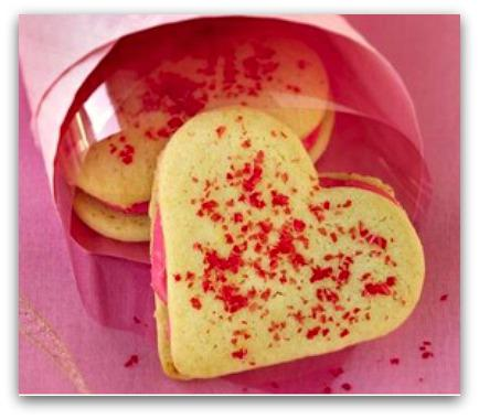 This Week's Make Me, Bake Me: Heart Sandwich Cookies