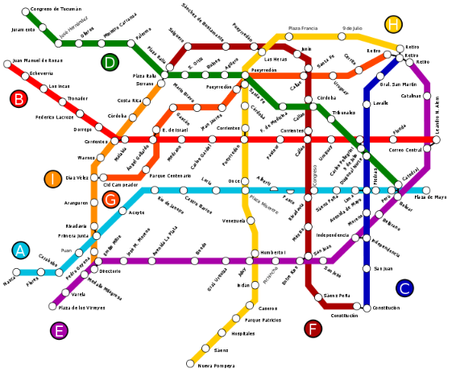 subte2015 Things I will miss in Buenos Aires