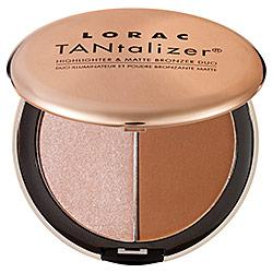 Makeup Collections ; Lorac : Lorac TANtalizer Highlighter & Matte Bronzer Duo