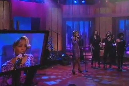 Mary J Blige performs Mr. Wrong, Living Proof on Wendy