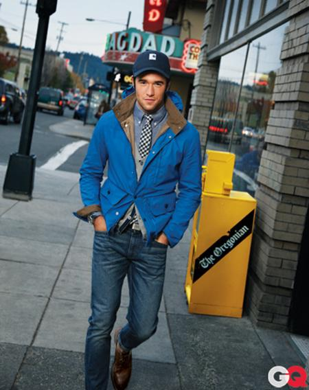 Revenge: Josh Bowman in GQ's February Issue